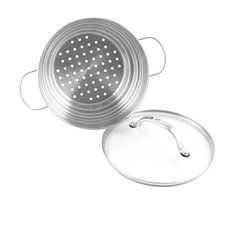 Raco Contemporary Stainless Steel Universal <b>Steamer</b> With Lid
