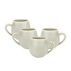 Robert Gordon Hug Me <b>Mugs</b> 4pc Set Sage
