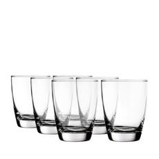 Old Fashioned Milan Glass 365ml 6pc
