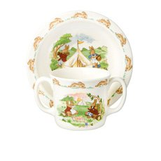Doulton Bunnykins Baby Set 2pc