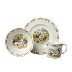 Doulton Bunnykins Child Set 3pc
