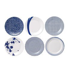 Pacific Plates 23.5cm Set of 6