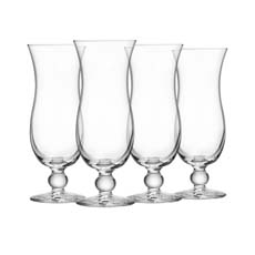 Royal Leerdam 4pc Blue Hawaii <b>Glass</b> Set 440ml