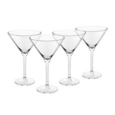 Royal Leerdam 4pc Martini <b>Glass</b> Set 260ml