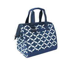 Insulated Lunch Bag Moroccan Navy
