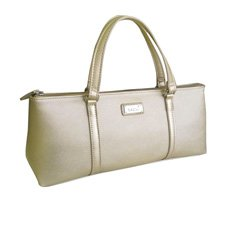 Insulated Wine Purse Champagne Gold