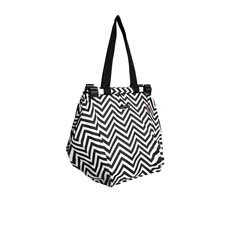 Shopping Trolley Bag Chevron Stripe