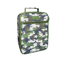 Sachi Style 225 Insulated Junior <b>Lunch</b> Tote Camo Green