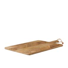 Parquetry Rectangular Paddle Serving Board 60x35cm