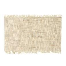 Roma Linen Placemat 30x45cm Natural Bleach