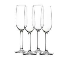 Salisbury & Co Unbreakable <b>Champagne</b> Flute 200ml Set of 4
