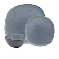 Salt & Pepper Arch 12pc Dinner Set Blue