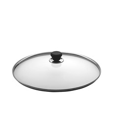 Glass Lid with Silver Rim 26cm