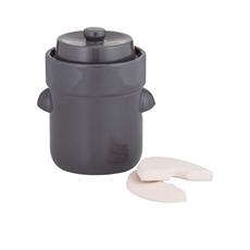 Fermentation Crock 3L Charcoal