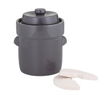 Fermentation Crock 5L Charcoal