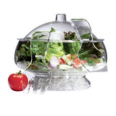 On Ice Salad Bowl with Dome Lid