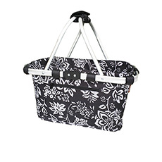 Carry Basket Double Handle Camellia Black