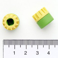 Silit Sicomatic L Pressure Indicator Cap Green & Yellow