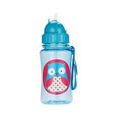 Zoo Kids Straw Bottle Owl