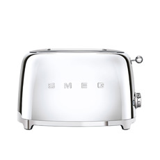 50s Retro Style 2 Slice Toaster  Chrome