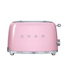 50s Retro Style 2 Slice Toaster  Pastel Pink