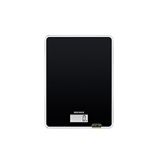 Page Compact 100 Digital Kitchen Scale 5kg Black