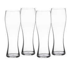 Beer Classics Wheat Beer Glass Set of 4