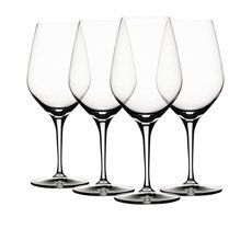 Specialty Rose Glass Set of 4