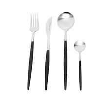 Stanley Rogers Piper <b>Cutlery</b> Set 16pc Black