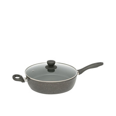 Quartz Stone Advanced Saute Pan with Lid 28cm