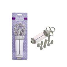 Icing Syringe Set with 8 Nozzle