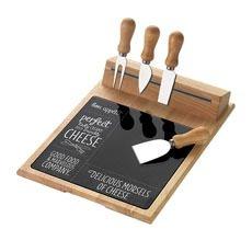 Bon Appetit 6pc Cheese Board & Knife Set Strip