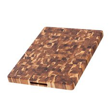 Teak Haus Edge End Grain 331 Cutting <b>Board</b> 51x38x4cm