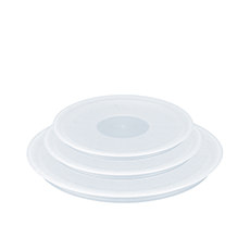 Tefal Ingenio Plastic Lids Set of 3 Clear