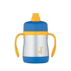 Foogo S/S Vacuum Insulated Sippy Cup Blue