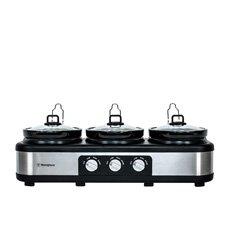 3 Pot Slow Cooker 2.5L