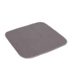 White Magic Eco Cloth <b>Dish</b> Drying Mat Charcoal