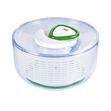 Easy Spin Large Salad Spinner White