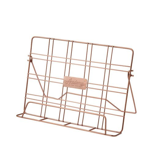 Academy Orwell Cookbook Stand 31x6x22cm Copper Fast Shipping