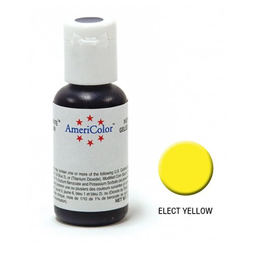 AmeriColor Soft Gel Paste Electric Yellow