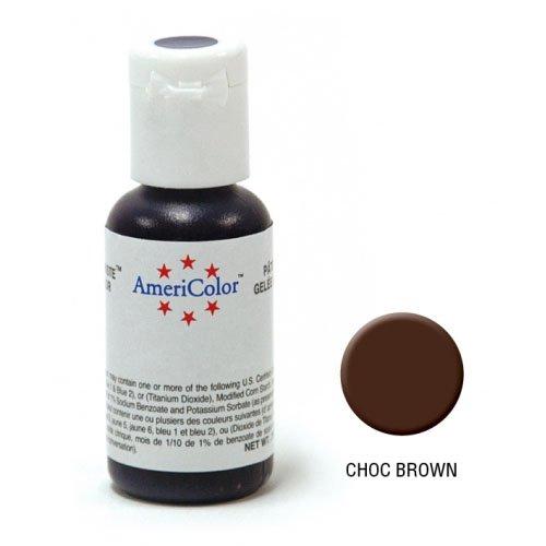 AmeriColor Soft Gel Paste Chocolate Brown