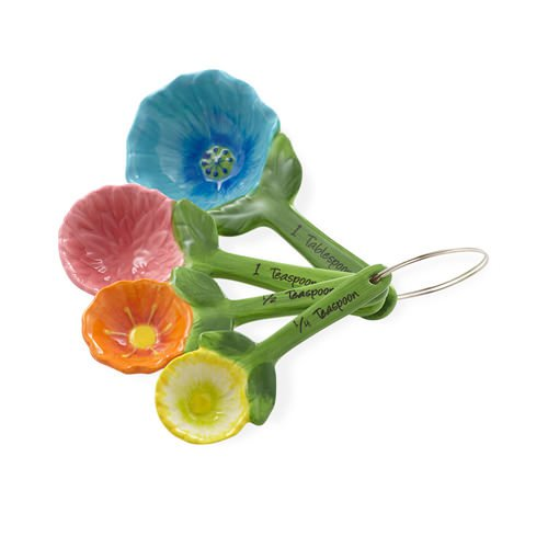 Anna Gare Flower Measuring Spoons Set of 4