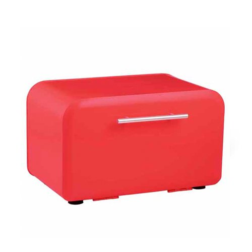Anna Gare Retro Bread Bin Red