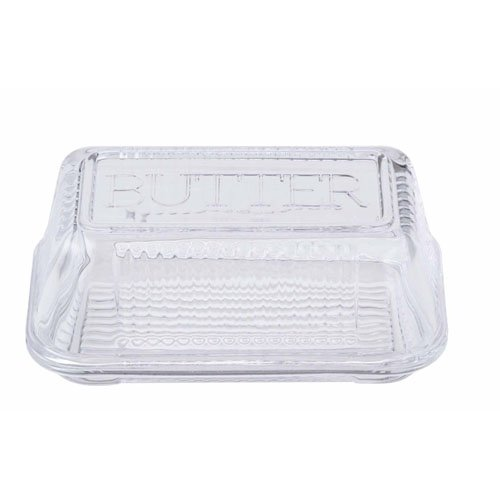 Anna Gare Retro Butter Dish Clear