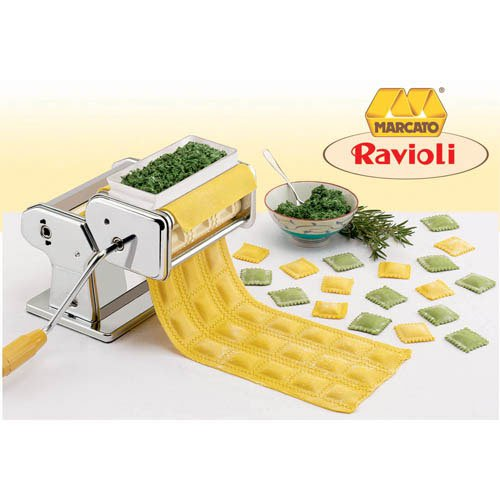 atlas pasta machine ravioli attachment