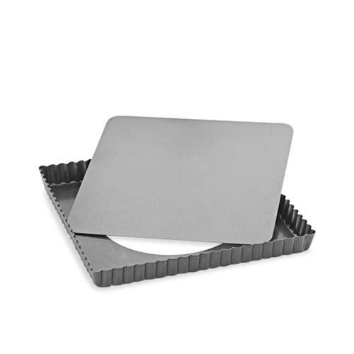 Baker's Secret Loose Base Square Tart Pan 23cm