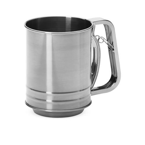 Baker's Secret Stainless Steel Sifter 3 Cup