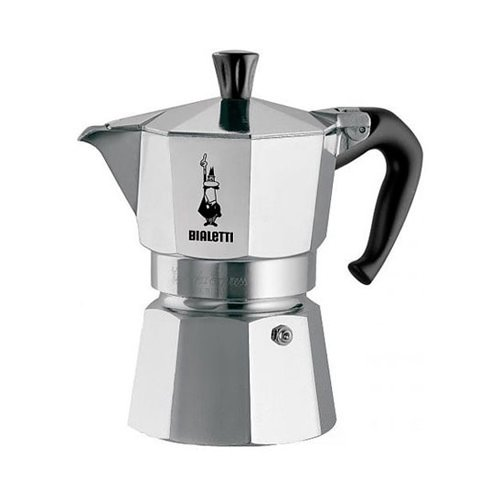 bialetti moka express stovetop espresso maker 3 cup. Black Bedroom Furniture Sets. Home Design Ideas