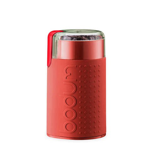 Bodum Bistro Coffee Blade Grinder Red
