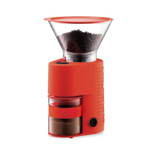 Bodum Bistro Coffee Grinder Red
